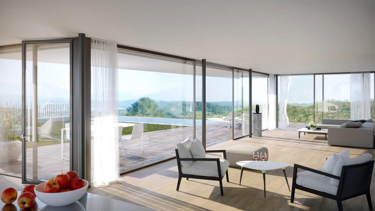 Faszinierend Moderne Häuser Innen Ideen Von Neubau Einfamilienhäuser In Jonen