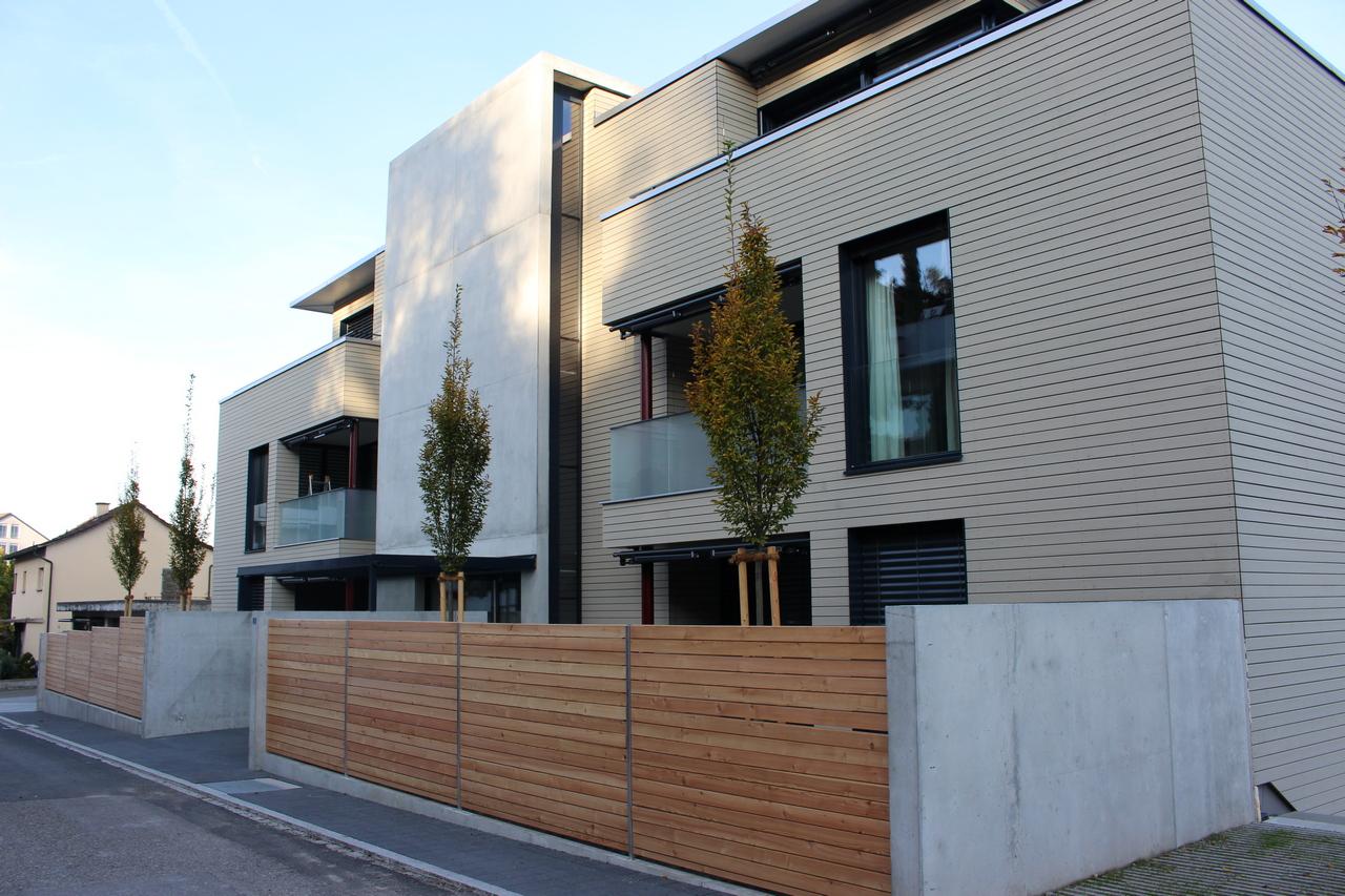 Neubau mehrfamilienhaus in muri fischerbau ag und immobilien for Mehrfamilienhaus neubau
