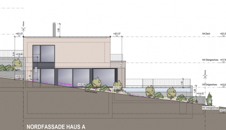 Neubau moderne Einfamilienhäuser in Jonen