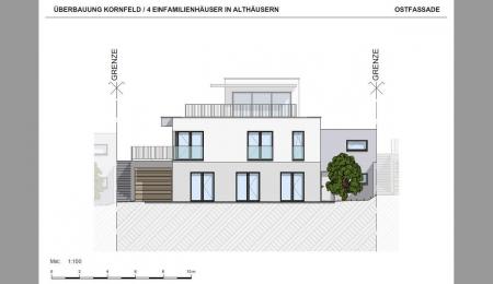 Moderne Einfamilienhäuser in Althäusern