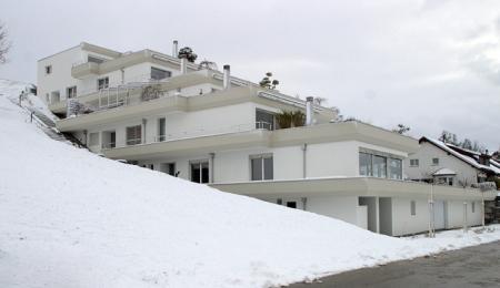 Neubau Terrassenhaus in Oberlunkhofen