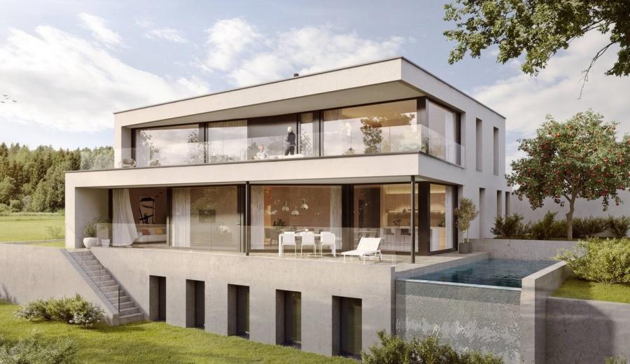 Exklusive Einfamilienhäuser an ruhiger Lage in Jonen